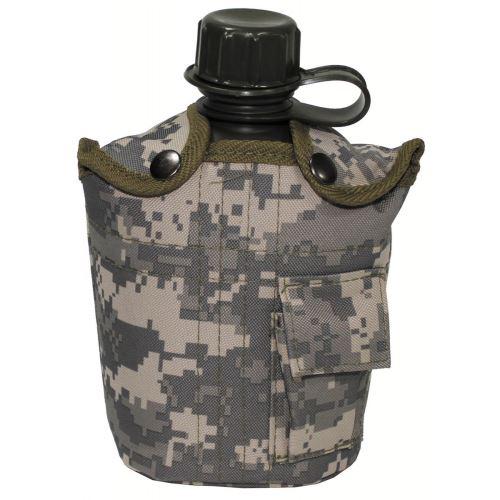 Polní lahev US s obalem 1l - Camo
