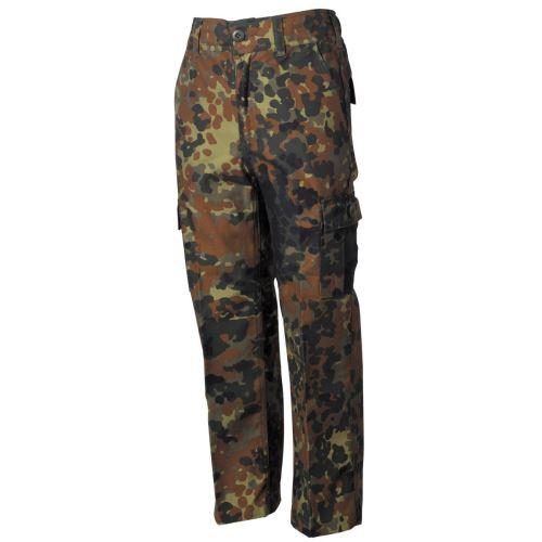 Dětské kalhoty US BDU - Flecktarn