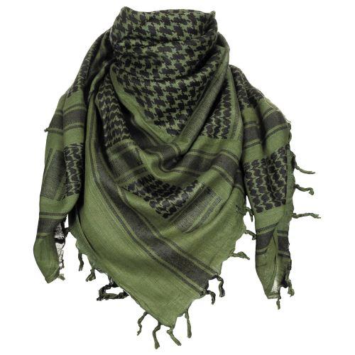 Shemagh (Scarf) MFH - zeleno-černý