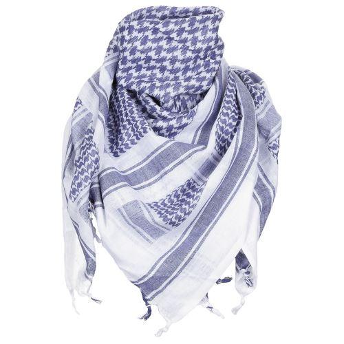 Shemagh (Scarf) MFH - modro-bílý