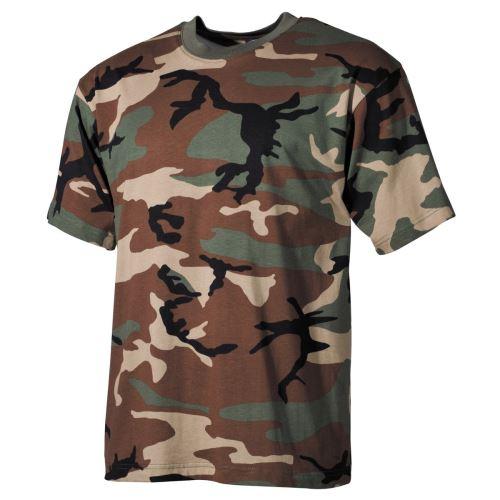 Bavlněné tričko MFH - Camo