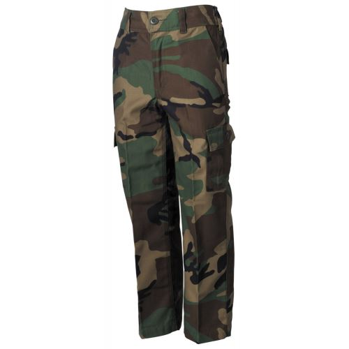 Dětské kalhoty US BDU - Woodland